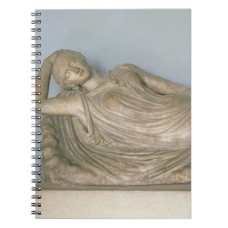 Ariadne dormido, helenístico de Alexandría, 2da c Libros De Apuntes Con Espiral