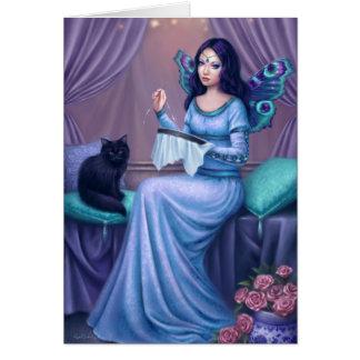 Ariadne Fairy Art Greeting Card