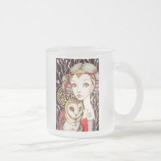 Ariadne Frosted Glass Coffee Mug
