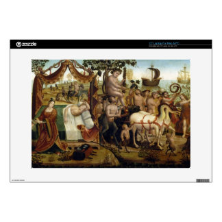 "Ariadne in Naxos, from the Story of Theseus (oil o Decal For 15"" Laptop"