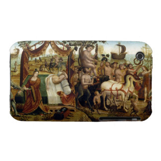 Ariadne in Naxos, from the Story of Theseus (oil o iPhone 3 Cover