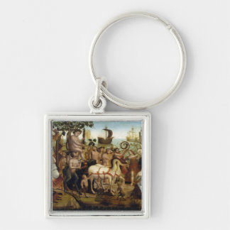 Ariadne in Naxos from the Story of Theseus oil o Key Chains