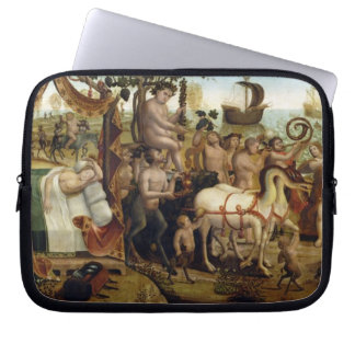 Ariadne in Naxos, from the Story of Theseus (oil o Laptop Sleeve