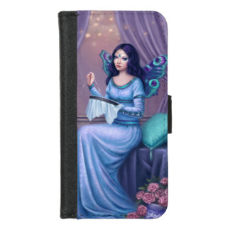 Ariadne Peacock Butterfly Fairy iPhone 8/7 Wallet Case