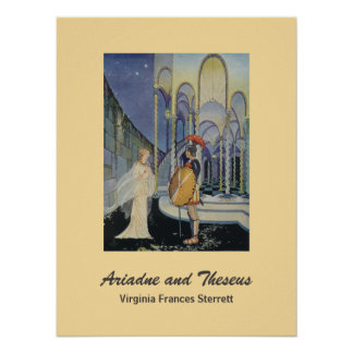 Ariadne y Theseus Poster