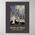 Ariadne y Theseus Posters