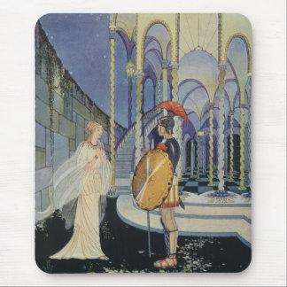 Ariadne y Theseus Alfombrilla De Ratón