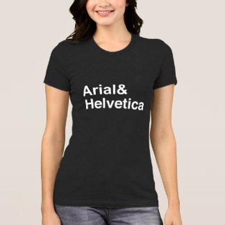 Arial Helvética Camiseta