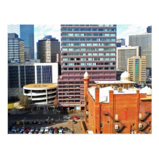 Arial view of Denver Mosque Postcard