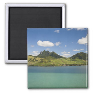 Arial view of Lion Mountain, South East 2 Inch Square Magnet