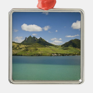 Arial view of Lion Mountain, South East Metal Ornament