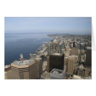 Arial View of Seattle Card