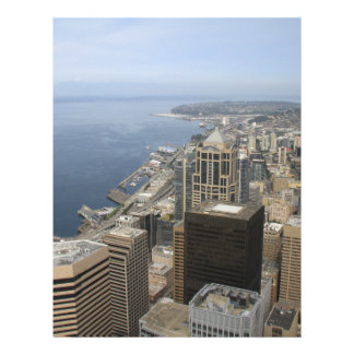 Arial View of Seattle Letterhead