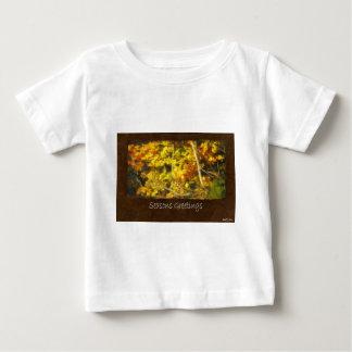 Ariana Autumn Leaves 9 Seasons Greetings Baby T-Shirt