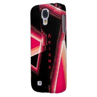 Ariana Black and Red Samsung Galaxy S4 case