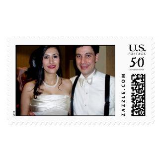 ariana's wedding postage