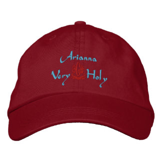 Arianna Name With Italian Meaning Green Embroidered Baseball Hat