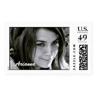 Arianna Postage Stamp