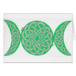 Arianrhod card (green)