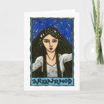 Arianrhod Greeting Card