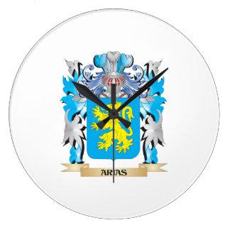 Arias Coat Of Arms Wallclock