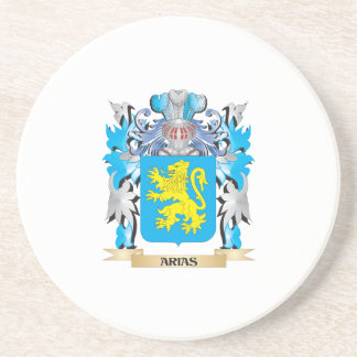 Arias Coat Of Arms Beverage Coaster