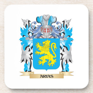 Arias Coat Of Arms Drink Coasters