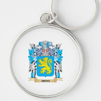 Arias Coat Of Arms Keychain