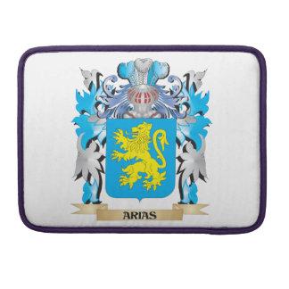 Arias Coat Of Arms MacBook Pro Sleeves