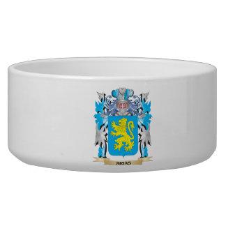 Arias Coat Of Arms Dog Food Bowls