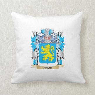 Arias Coat Of Arms Throw Pillow