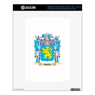 Arias Coat Of Arms Decals For The NOOK