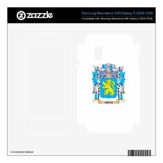 Arias Coat Of Arms Samsung Mesmerize Skins