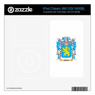Arias Coat Of Arms Decals For iPod Classic