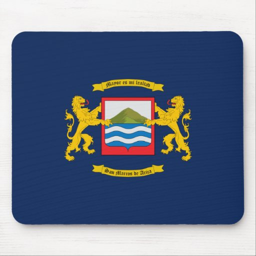 Arica, Chile flag Mouse Pad