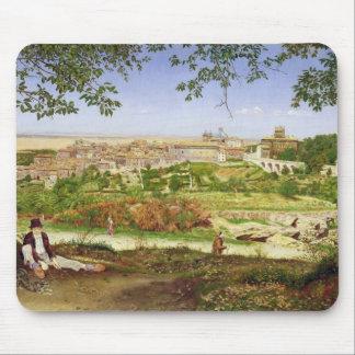 Ariccia, Italia, 1860 (aceite en el panel) Alfombrillas De Raton