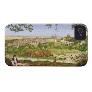 Ariccia, Italia, 1860 (aceite en el panel) Carcasa Para iPhone 4