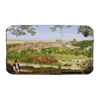 Ariccia, Italia, 1860 (aceite en el panel) Funda Para iPhone 3