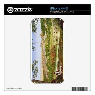 Ariccia, Italia, 1860 (aceite en el panel) iPhone 4S Skin