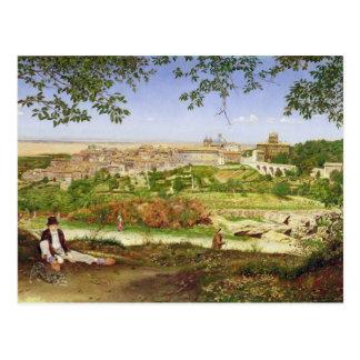 Ariccia, Italia, 1860 (aceite en el panel) Tarjetas Postales