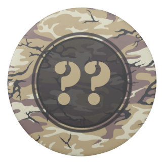Arid Brown Custom Camo Eraser