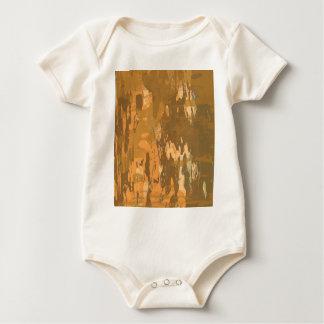 Arid Desert Bark Camouflage Baby Bodysuit