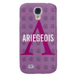 Ariegeois Breed Monogram Galaxy S4 Covers