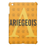 Ariegeois Breed Monogram iPad Mini Cover