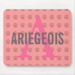 Ariegeois Breed Monogram Mouse Pad