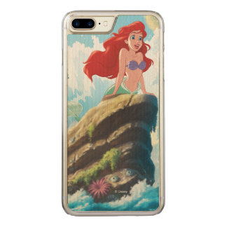 Ariel | Adventure Begins With You Carved iPhone 8 Plus/7 Plus Case