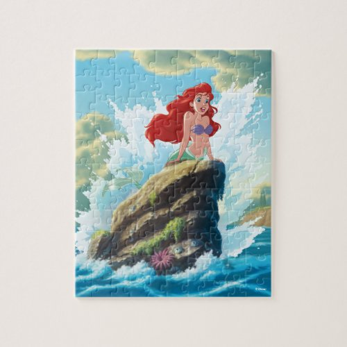 Ariel  Adventure Begins With You Jigsaw Puzzle