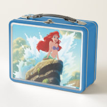 Ariel | Adventure Begins With You Metal Lunch Box