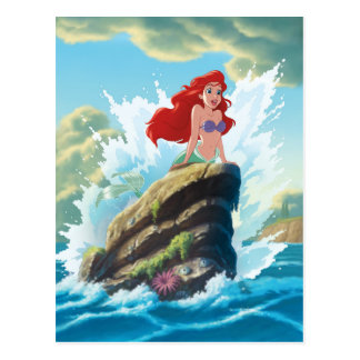 Ariel | Adventure Begins With You Postcard