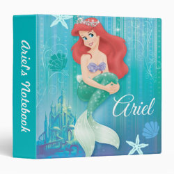 Avery Signature 1' Binder with Ariel Under The Sea - The Little Mermaid design